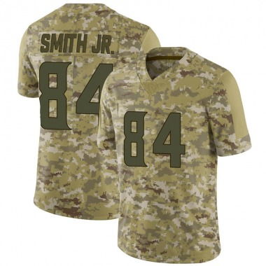 Men's Nike Minnesota Vikings Irv Smith Jr. 2018 Salute to Service Jersey - Camo Limited