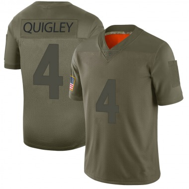 Youth Nike Minnesota Vikings Ryan Quigley 2019 Salute to Service Jersey - Camo Limited