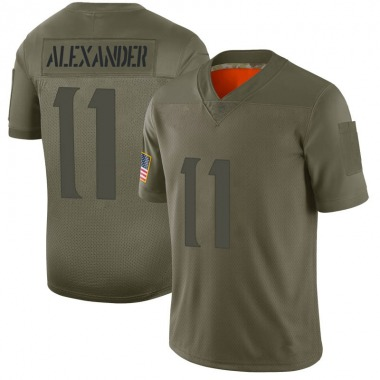 Youth Nike Minnesota Vikings Terrence Alexander 2019 Salute to Service Jersey - Camo Limited